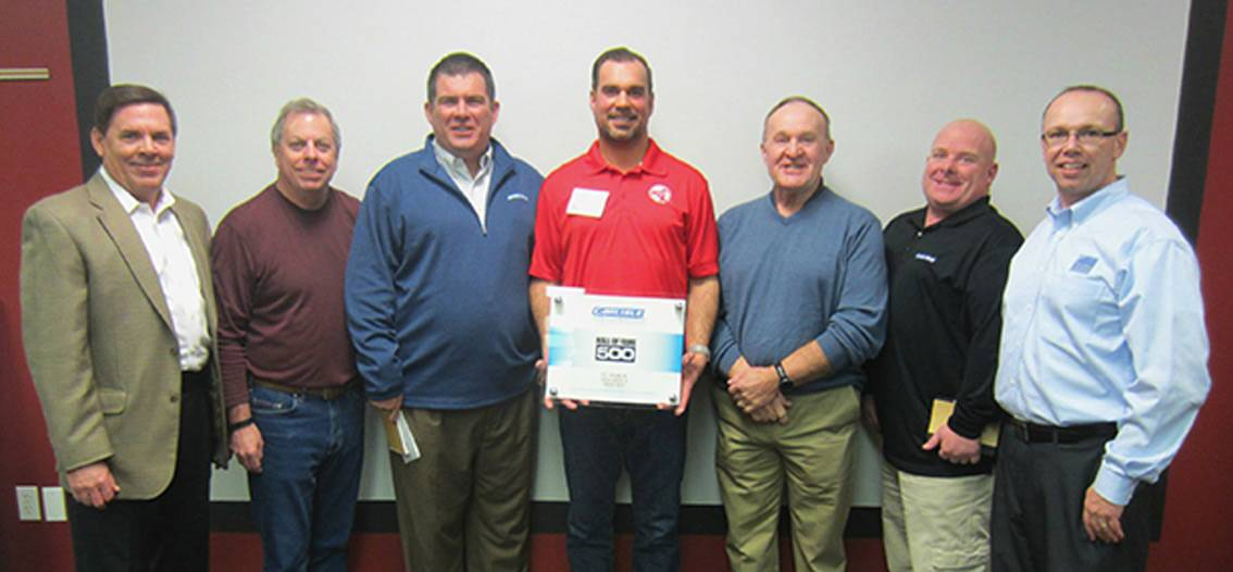 D C Taylor Co Receives Prestigious Carlisle Syntec